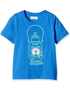 Columbia Camiseta Manga Corta Camp Light Graphic Azul 12 años (152 cm)
