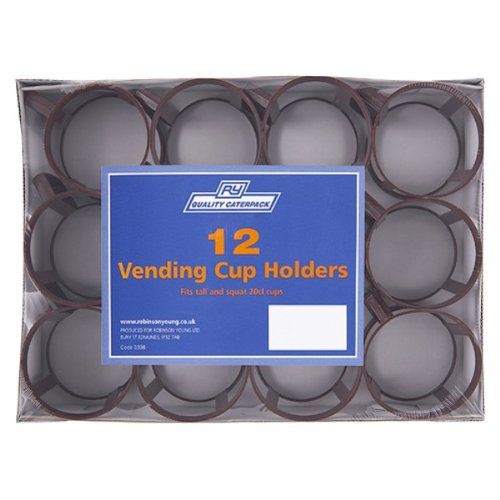 CPD RY0308 Robinson Young Vending Cup Holders - Pack of 24 (2 x 12) Test