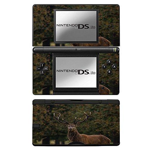animales-salvajes-163-ciervo-pegatina-de-piel-cubierta-de-vinilo-con-laminado-efecto-de-cuero-y-dise