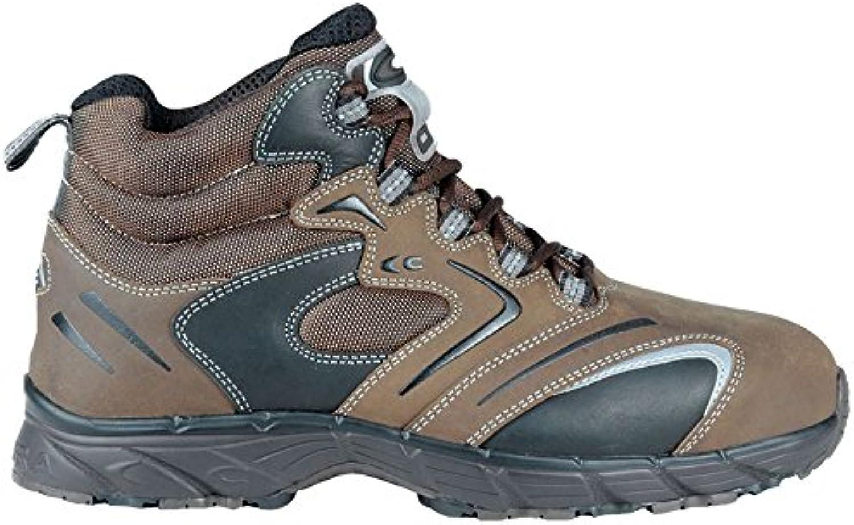 Cofra NEW Fitness S3 SRC par de zapatos de seguridad talla 40 MARRÓN