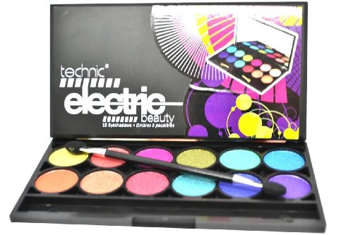 Price comparison product image TECHNIC ELECTRIC EYES PALETTE EYE SHADOW PALLETTE WITH MIRROR