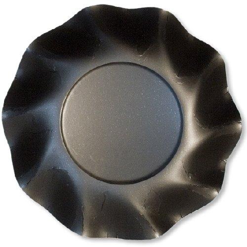 Chaks 46TNO, Lot de 10 coupelles 18,5cm Noir Opaque