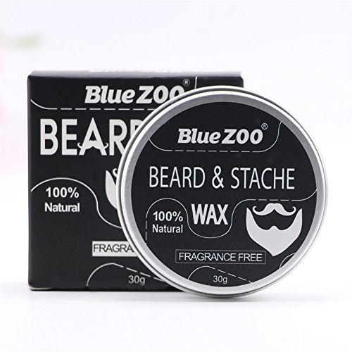 30g Men's Beard Balm, Bartbalsam Bartpflegecreme für Bartpflege Strong Hold