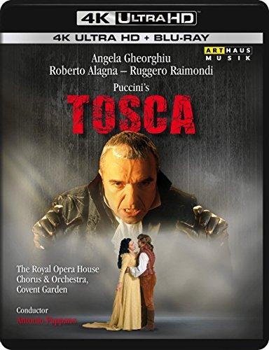 Puccini's Tosca - Ultra HD Blu-ray [4k + Blu-ray Disc]