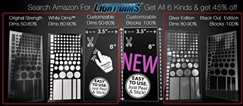 lightdims Variety Pack Get 5der 6Licht Dimmen Blatt Produkte mit geringen Eco Verpackung (Blatt-produkte)