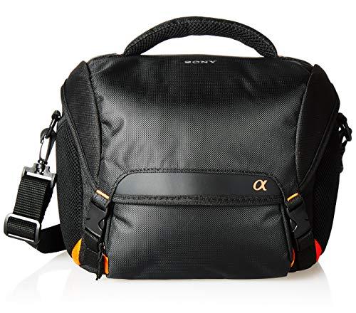 Sony LCS-SC8 gepolsterte Tasche für DSLR Kamera mit Zusatzobjektiv - Sony Tasche
