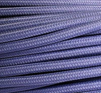 Textilkabel Stoffkabel Violettblau , 2-adrig rund , 2x0,75 von Globe Warehouse bei Lampenhans.de