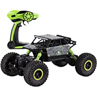 deAO 6 Channel Remote Control Rock Crawler 1:18 Scale Off Road Car Rally Buggy GREEN - Compare prices on radiocontrollers.eu