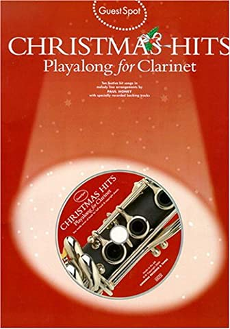 Guest Spot Christmas Hits For Clarinet -Book & CD- (A