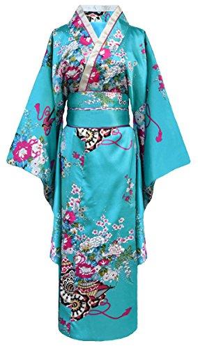 Kimono de japonesa-Disfraz para mujer