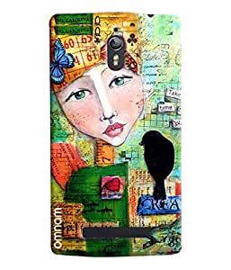 Omnam Creative Play Puzzle Printed Designer Back Cover Case For Oppo Find 7