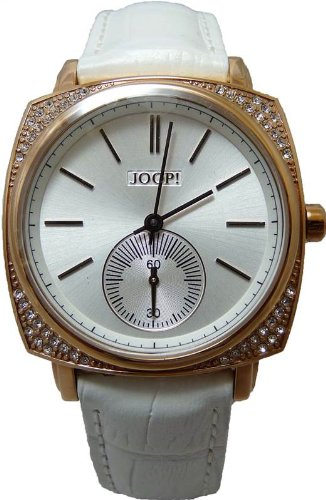 Joop Ladies Watch White Leather Strap And Mini Dial JP100342F02