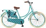 26 Zoll Popal Omafiets OM26 Damen Holland Fahrrad, Farbe:blau
