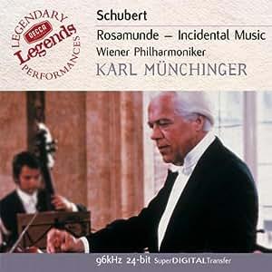 Schubert - Rosamunde / Weber - Ouverture Preciosa / Schumann - Ouverture Genoveva