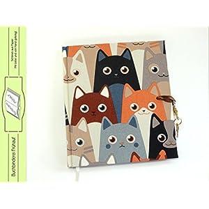 Tagebuch mit Schloss Katzen