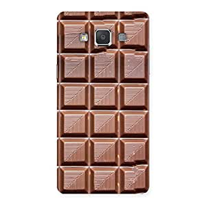 Luxirious Delicious Choco Back Case Cover for Galaxy Grand 3