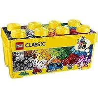 LEGO Classic 10696 - Mittelgroße Bausteine-Box, Lernspielzeug