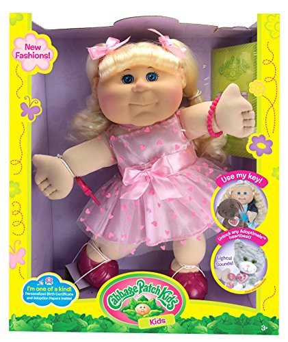 cabbage-patch-kids-blonde-kid-pink-heart-dress-fashion-baby-doll-14-by-cabbage-patch-kids