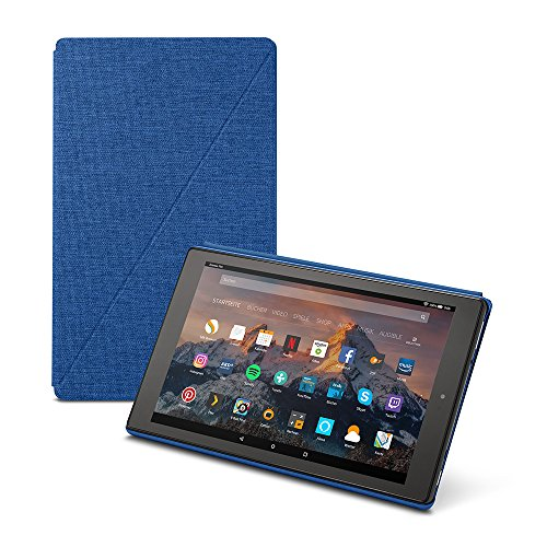 Amazon Fire HD 10-Hülle (10-Zoll-Tablet, 7. Generation - 2017), Indigoblau