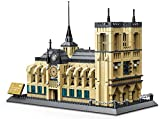 Wange Cattedrale di Notre Dame. Modello d'architettura da assemblare con 1380 mattoncini