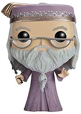 Harry Potter Dumbledore with Magic Wand Vinyl Figure 15 Figurine de collection