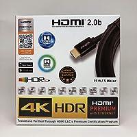 Paugge Hdmi 2.0b Premium Sertifikalı 4K 60Hz 18Gbps HDR Dolby Vision HDCP 2.2 Destekli HDMI Kablo (5 Metre)