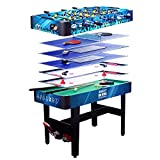 Pl Ociotrends – Table multi-jeux 7 en 1, 120 x 61 x 82 cm