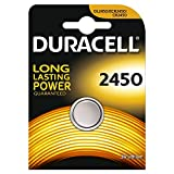 Two (2) X Duracell CR2450 Lithium Coin Cell Battery 3v Blister Packed