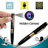 Videocamera portatile Bysameyee Meeting Video Recorder, Mini videocamera portatile DVR Cam Wireless PenCam Surveillance Security (1 confezione)
