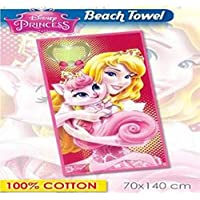 CC Disney Princess Beach Towel Cotton 70 x 140 cm Pool Gift Idea mct1933