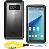 Temdan Samsung Galaxy Note 8 Waterproof Case, UNIQUE Series