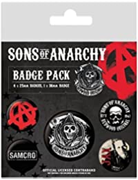 Sons Of Anarchy Mix Lote de chapas
