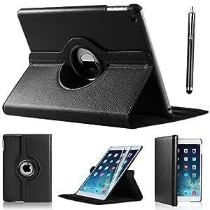 DN-Technology Apple iPad Mini 360 Rotation Case with Screen Protector (Black)