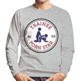 Trainee Porn Star Converse Logo Men's Sweatshirt