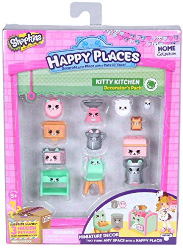 Shopkins Happy Places Decorator Pack Kitty Küche