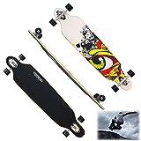 HJ 41 Skateboard Longboard Skate Board Streetsurfer Long Street Board Cruiserboard