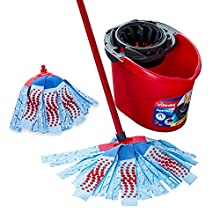 Vileda SuperMocio 3 Action XL Mop and Bucket Set with Extra Refill