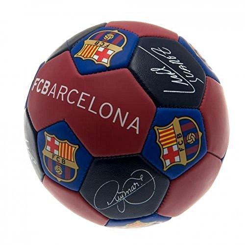 FC Barcelona Offizieller Fußball Nuskin Fußball (Größe 3), tolles Weihnachts- oder Geburtstagsgeschenk ideal für Herren und Jungen