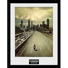 """GB eye–Marco con fotografía de The Walking Dead, temporada 1"""", multicolor, 16(30,5x 30,5cm"""