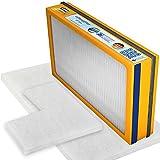Swirl Ersatzfilter-Set 14 für Vallox Heinemann-KWL 080 090 SE, 091 SC für Geräte Modell (L) (1 x F7 Pollenfilterkassette, 2 x G4 Matten), Wärmetauscher rechts, 3 Stück
