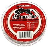 Paladin Fluorocarbon Schnur 30m 0,50mm 29kg - Vorfach Schnur für Spinnvorfach zum Spinnfischen oder Pilken auf Dorsch, Pilkvorfach, Meeresvorfach