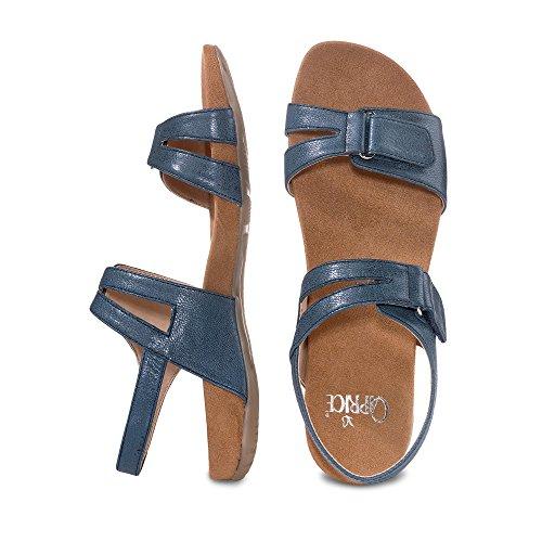 Caprice , Sandales pour femme blau/metallic