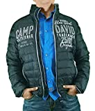 Camp David Steppjacke CCB-1855-2792 Flag red or. Black or. mid Blue (Black, L)