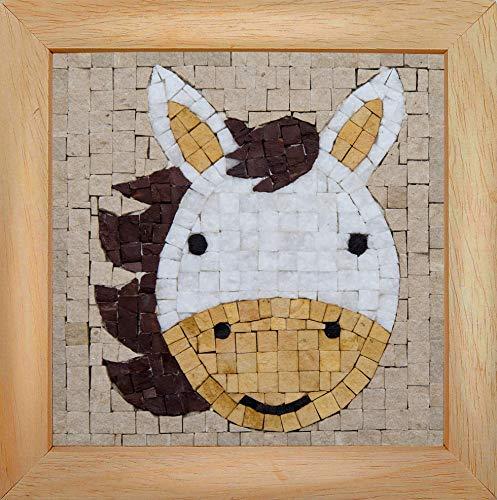 Trois petits points Mosaic Box Horse Face-GEANT, 6192459602608, Universal