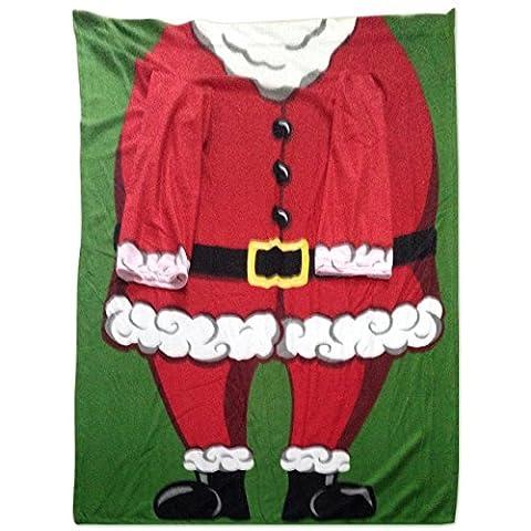 Snug Rug Weihnachten Santa Ärmeln Decke, rot/weiß weihnachtsmann