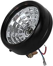 AUTOFASTERS-6 LED Round White Light for All Cars & Bikes