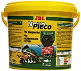 JBL 303090 Novopleco Chips, Alimento Básico para Plecos Pequeños y Medianos, 5.5 l