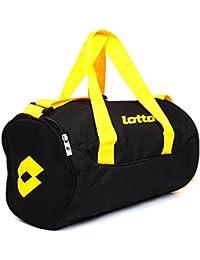 Lotto Black and Yellow Gym Bag