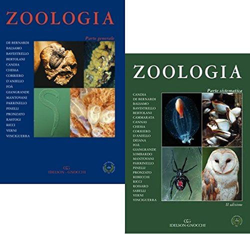 Zoologia  Parte Sistematica + Parte Generale