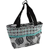 On-The-Go Soft-Sided Insulated Lunch Tote Bag With Handles By Bogo Brands (Turquoise)